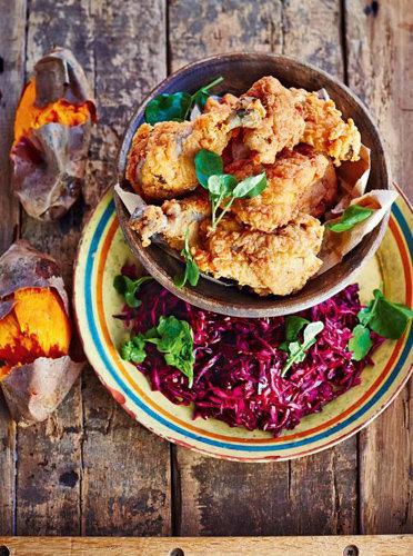 Рецепты приготовления курицы - Маринованная курица, приготовленная во фритюре
