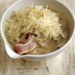 Блюда из капусты. Капуста тушеная рецепт с беконом