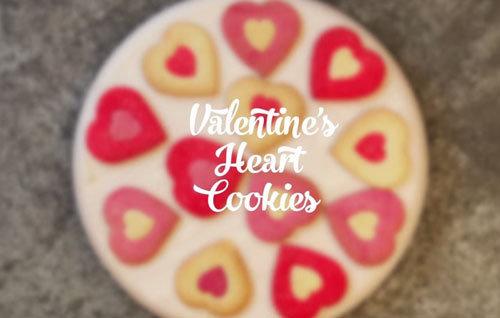 День св. Валентина. СЕРДЦЕ - простой рецепт печенья