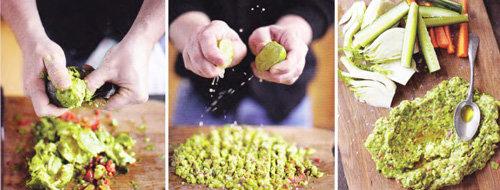 Мастер-класс Джейми Оливера Вкусный обед за 30 минут -хрустящие овощи