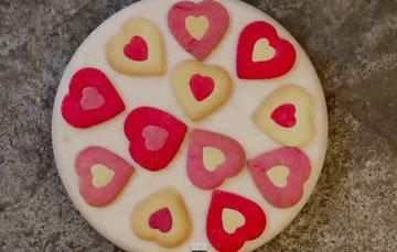 СЕРДЦЕ - простой рецепт печенья