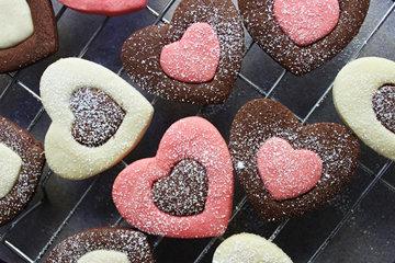 Эти печенья-сердечки готовятся просто