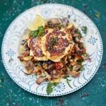 Блюда из сыра - оладьи из пармезана и рикотты