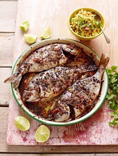 Рыба в духовке рецепт с маринадом