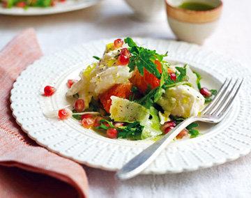 Салат с гранатом - простой и полезный салат