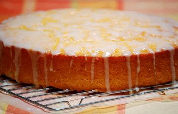 Пирог с апельсинами - яркий, сочный, вкусный