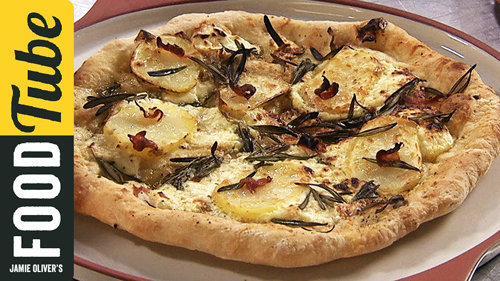 Итальянская пицца Бьянка
