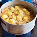Суп с курицей рецепт с клецками
