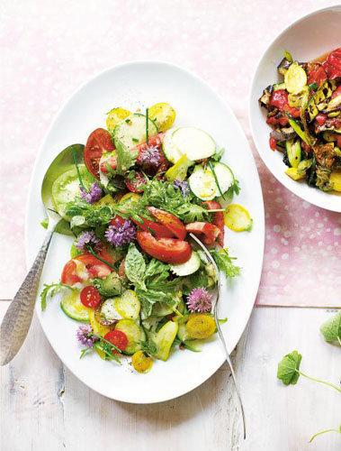 Салаты из овощей. Салат Рататуй