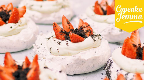 Торт Павлова рецепт с клубникой