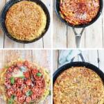 Итальянские блюда фриттата из пасты от Женнаро