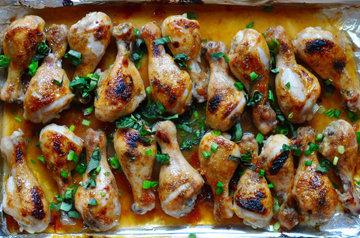 Куриные ножки рецепт с перцами