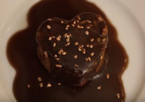 Пудинг рецепт карамельный на 14 февраля День святого Валентина