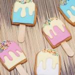 Детское печенье Мороженное на палочке