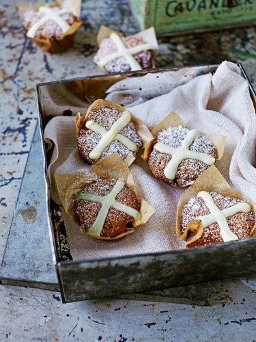 Пасхальные рецепты выпечки как испечь маффины Hot cross