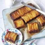Постная выпечка. Пирог с яблоками рецепт перевернутый