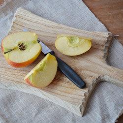 яблоко нарезать тонкими дольками