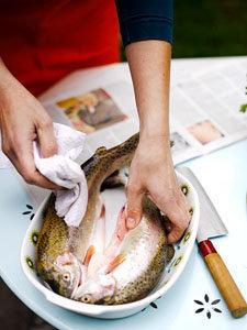 1. Рыба на гриле