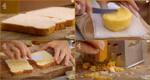 1. Сэндвич с сыром