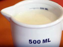 5. молоко