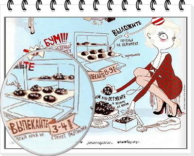 Шоколадное печенье рецепт 7