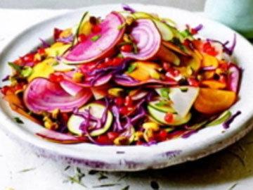 Салат со сладкой заправкой