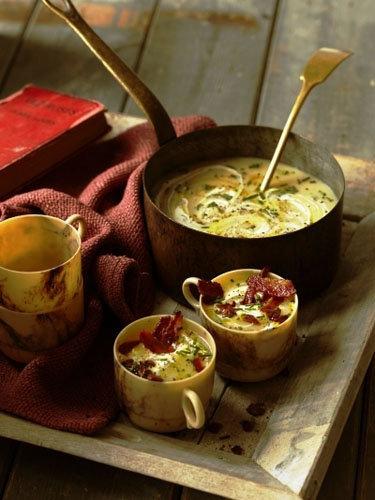 Картофельный суп рецепт