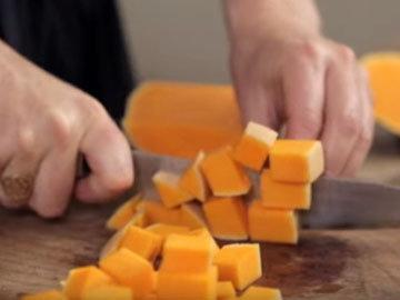 Очистить сладкий картофель