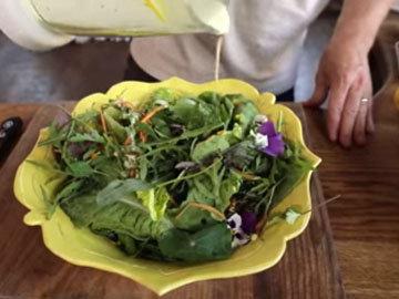 как приготовить заправку для салатов