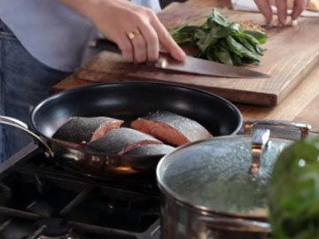 1. готовить филе