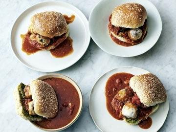 2. Основное блюдо Булочки с фрикадельками