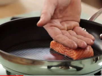 Рыбу пожарить