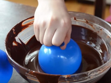 Как приготовить шоколадные чашечки 4