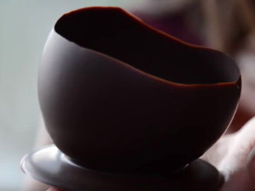 Креманки из шоколада