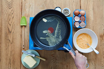 Как сделать идеальную яичницу - шаг 4