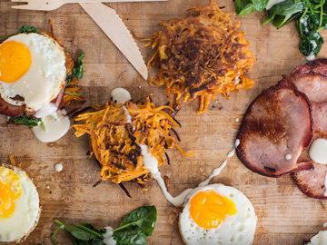 Мастер класс Завтрак с яйцами и беконом 4