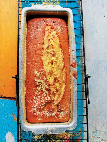 Пирог из кукурузной муки по-бразильски