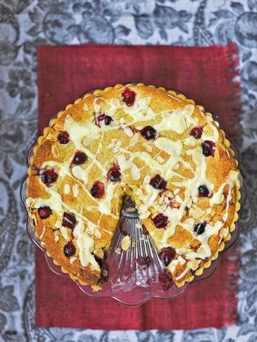 Рецепт песочного пирога с вареньем