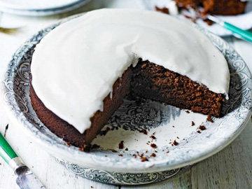 идеальный шоколадный пирог Гиннеса
