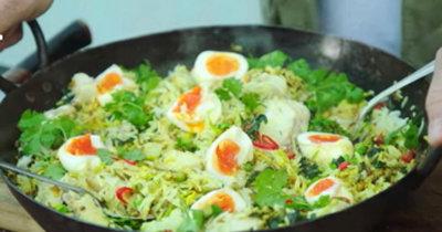 Рыбное блюдо Kedgeree