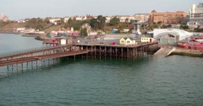 кафе на Southend Pier