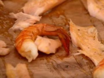 креветки рыба