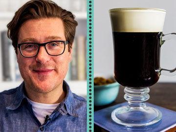 Ирландский кофе со вкусом Creme de menthe