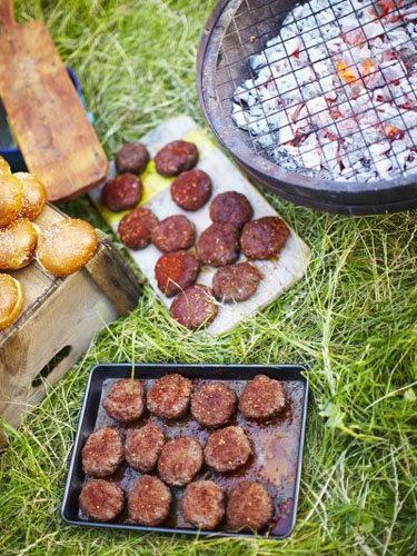 Марроканские гамбургеры из баранины