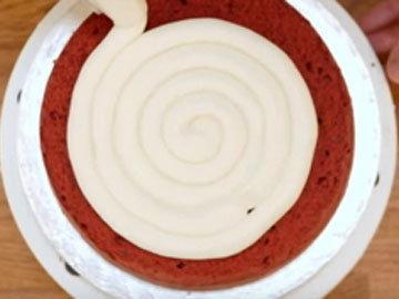 Мастер класс Красный бархат рецепт - торт 10
