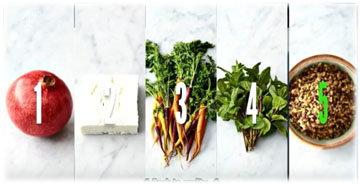 Салат из моркови и зерновых Ингредиенты