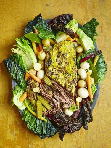 Тушеная говядина рецепт с горчицей