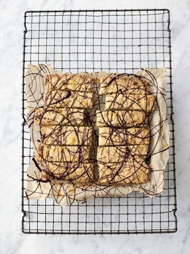 4. Шоколадно-апельсиновый шортбред