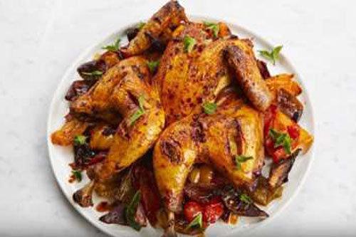 Рецепт жареной курицы