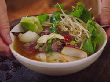 Pho - суп с говядиной 7
